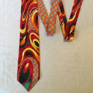 Vintage 90's Rush Limbaugh No Boundaries 100% Silk